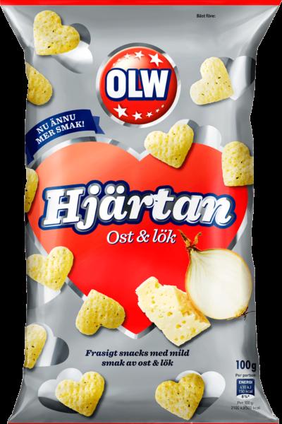 Hjärtan Ost & Lök