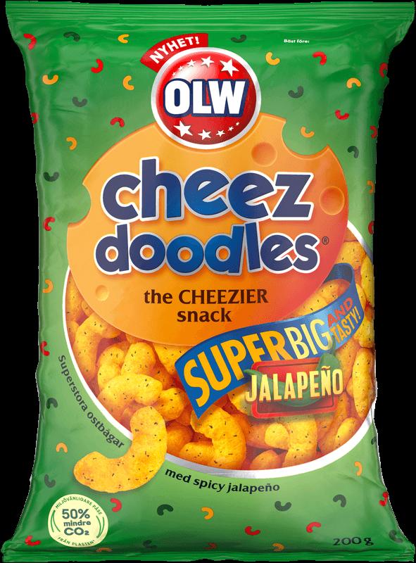 Super cheez doodles Jalapeno