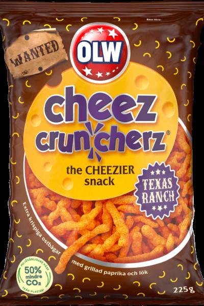 cheez cruncherz Texas Ranch